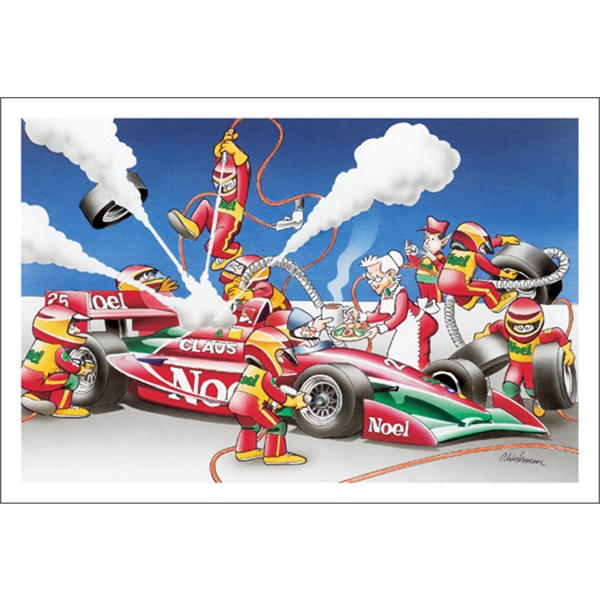 Elves Performing A F1 Race Pit Stop