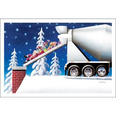 Cement Truck Unloaded