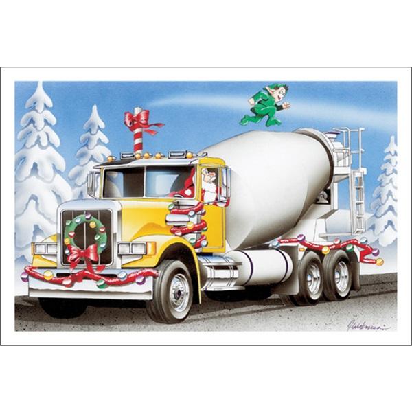 Cement Truck Treadmill