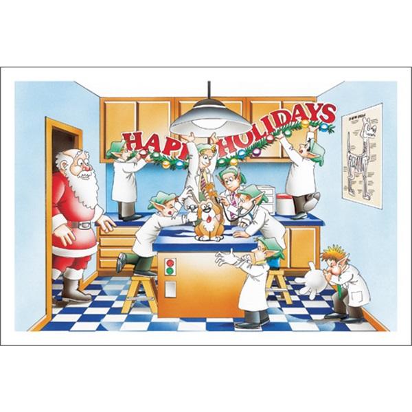 Happy Holidays Veterinarian Style