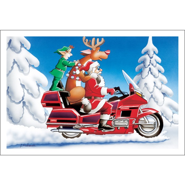 Santa And The Crew Cruising