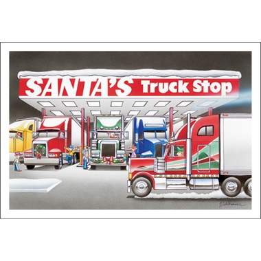 Santa's Truck Stop