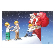 Round Santa Rectangle Chimney