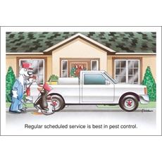 Regular Scheduled Service Is Best In Pest Control