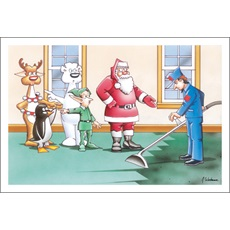 Christmas Carpet Cleaning.Carpet Steam Cleaning Christmas Cards Paul Oxman Publishing