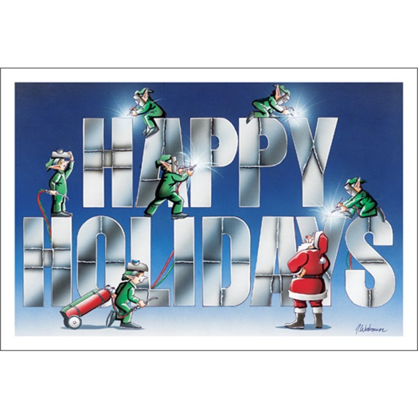 Welded Happy Holidays