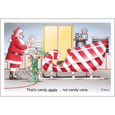 Candy Apple Not Candy Cane