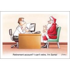 I Can't Retire, I'm Santa
