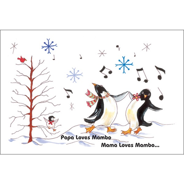 Papa Loves Mambo Dancing Penguins