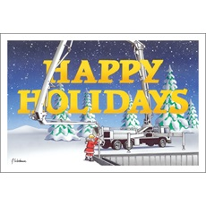 Happy Holidays Concrete Pump