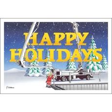 Happy Holidays Concrete Pump