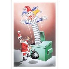 Jack In The Box Startles Santa