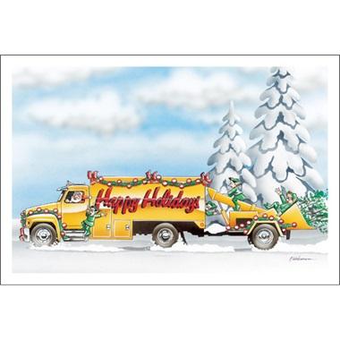 Happy Holidays Mulcher