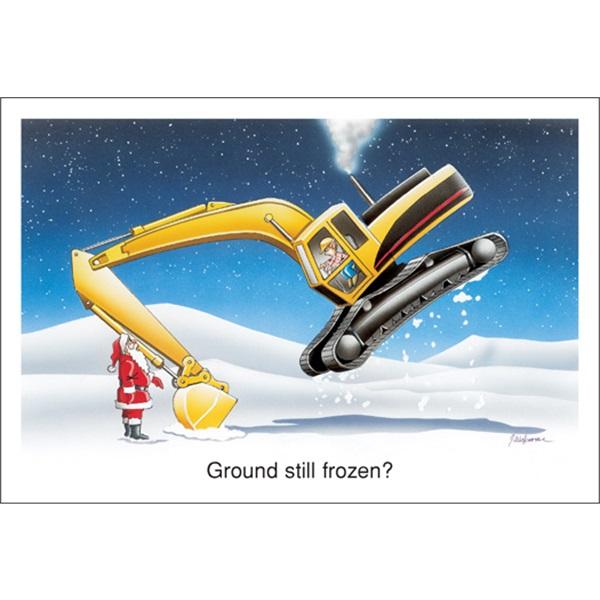 Ground Still Frozen?