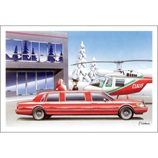 Helicopter Santa