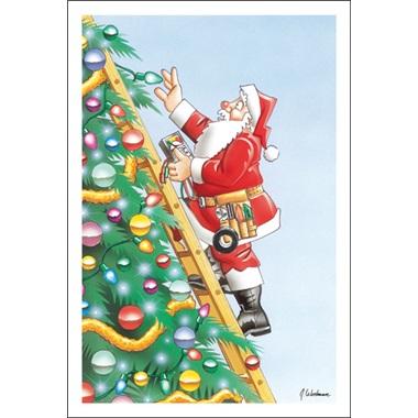 Santa Fixed The Tree Lights