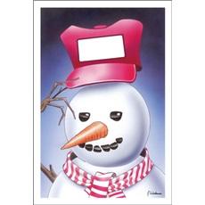 Snowman Logo Hat
