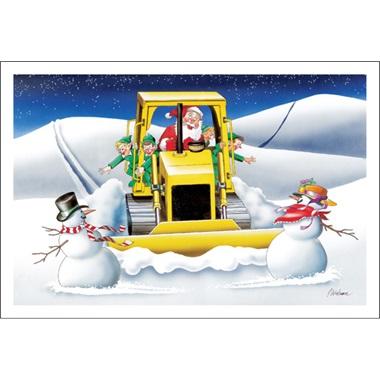 Santa Is In The Dozer Again