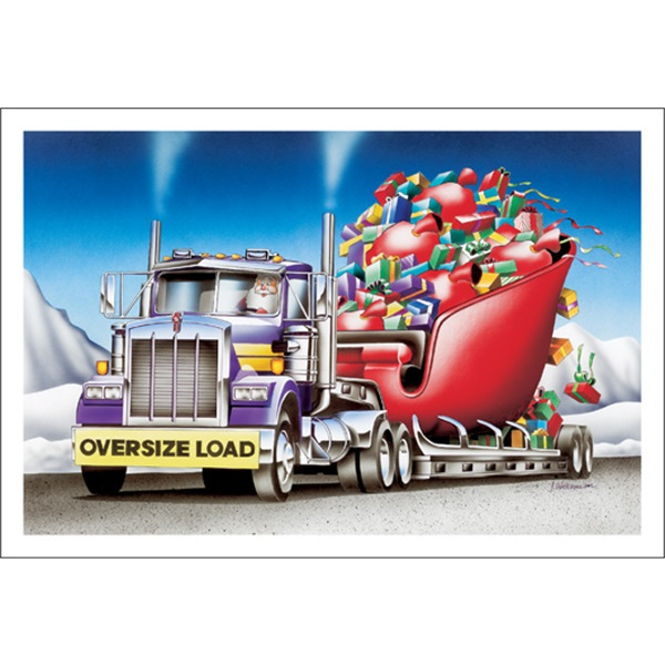 Oversize Load Coming Thru