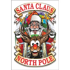 North Pole Santa