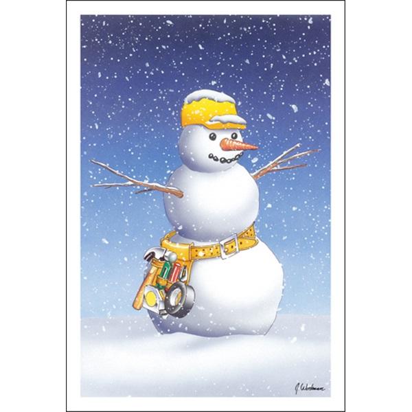 Handy Snowman