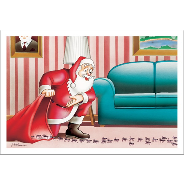 Santa's Pest Control Method
