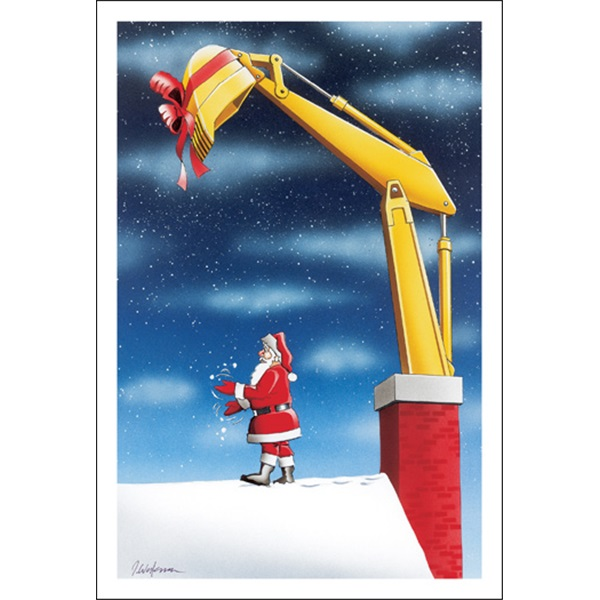 An Excavator For Chirstmas