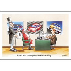 You Have Your Own Financing