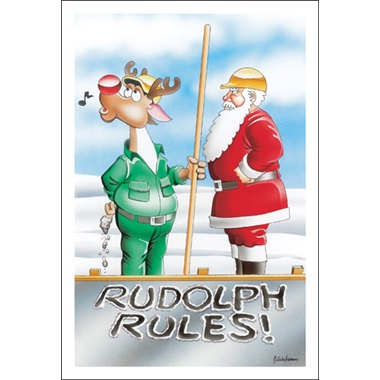 Rudolph Rules!