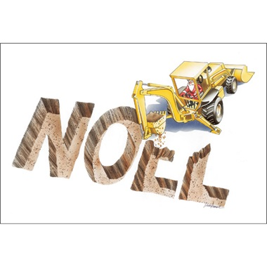 Noel Dug With A Backhoe