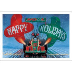 Noel Dragster Happy Holidays Parachute