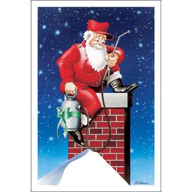 Santa The Exterminator