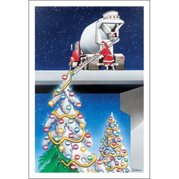 Cement christmas trees paul oxman publishing