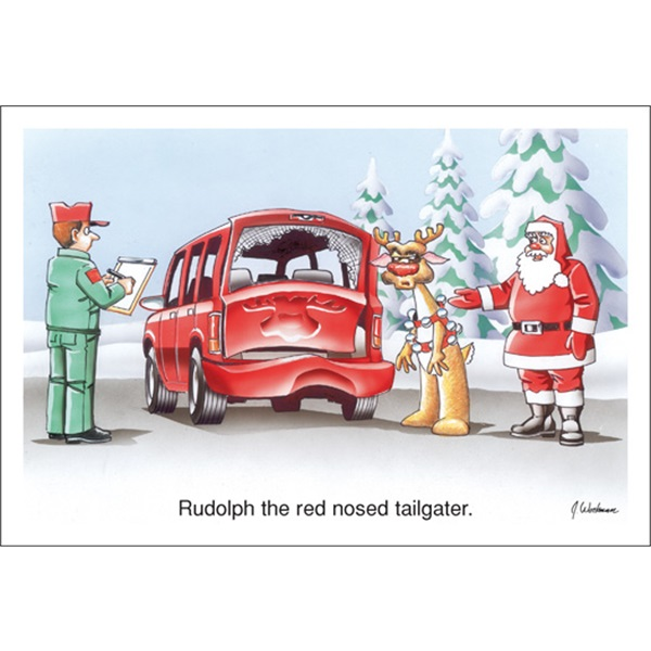Rudolph The Red Nose Tailgater