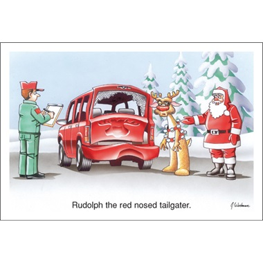 Rudolph The Tailgater