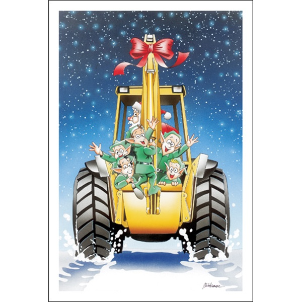 Elves In Backhoe