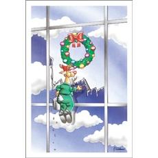 Reindeers Make Fabulous Window Washers