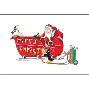 Welding Merry Christmas
