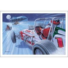 Santa Drives Polar Racing