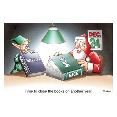 Time To Close The Books On Another Year