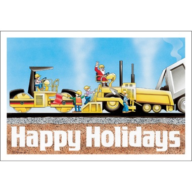 Happy Holidays Paving