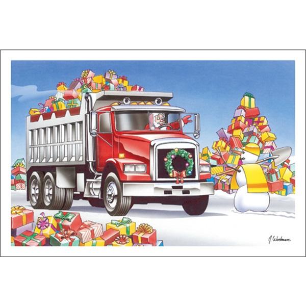 Dump Truck Crossing
