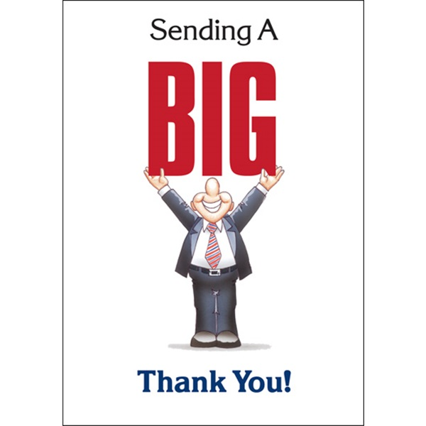 Sending You A Big Thank You