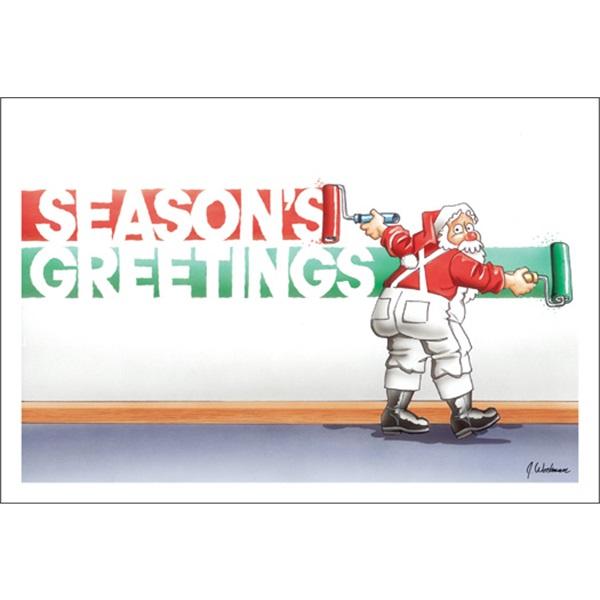 Santa Rolls On Season's Greetings