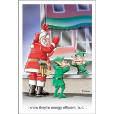 """I Know Ther Are Energy Efficient, But..."""