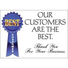 Thank You Best Customer