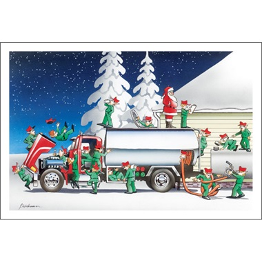 Elves And Fuel Trucks Don't Mix