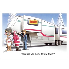 Santa Just Bought A Fifth Wheel