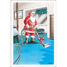 Santa Cleans The Carpet
