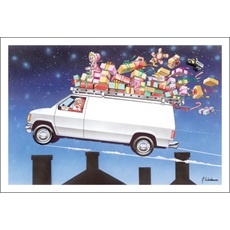 Service Van Over Rooftop